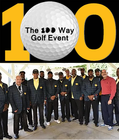 3rd Annual 100Way Golf Event